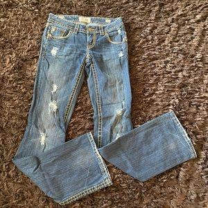 Mek denim Buckle jeans